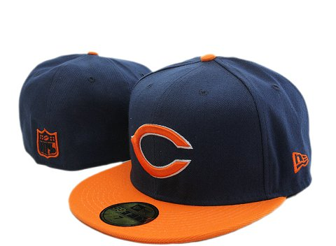 Chicago Bears NFL Fitted Hat YX13